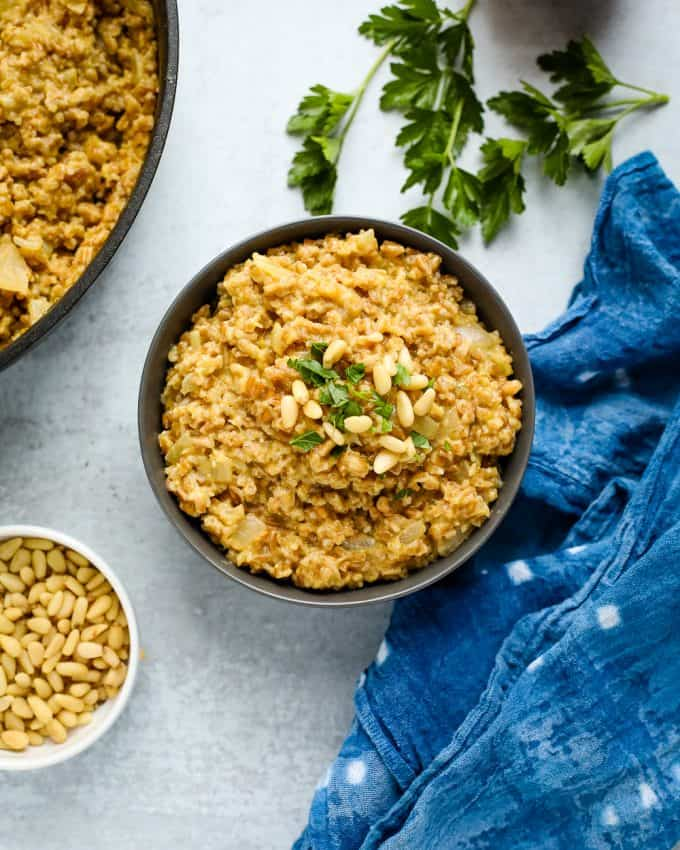 stovetop risotto