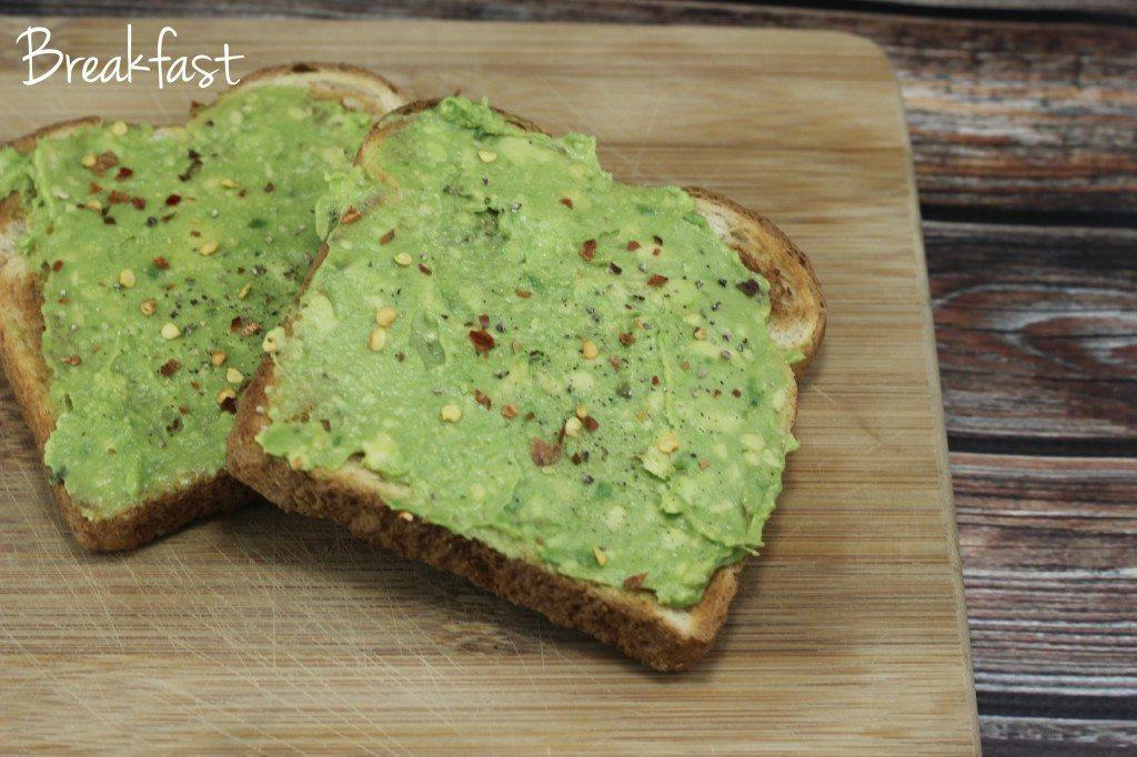 healthy breakfast avocado