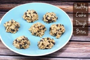healthy cookie dough bites