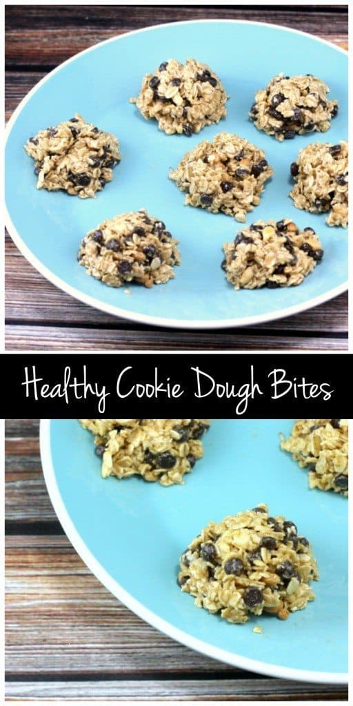 These cookie dough bites are the perfect healthy treat! You just need a few ingredients to whip up these vegan & gluten free snacks!