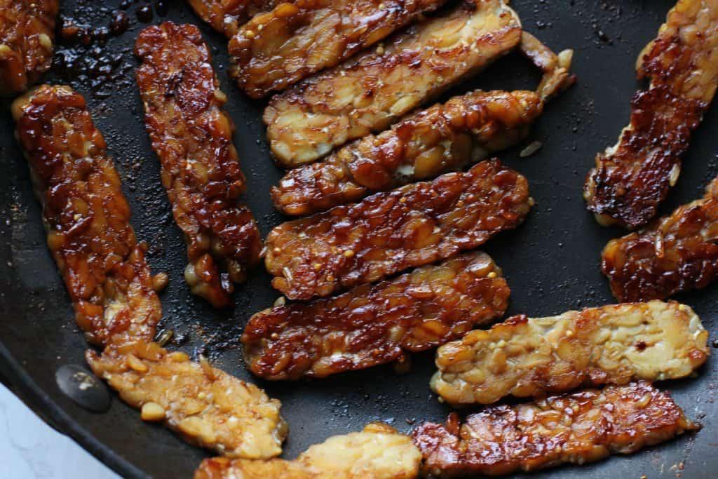 how to make vegan tempeh bacon