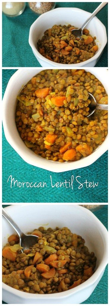 This healthy lentil soup recipe is vegan & gluten free. It's loaded with protein and fiber so it's the perfect weeknight dinner recipe to keep you full!