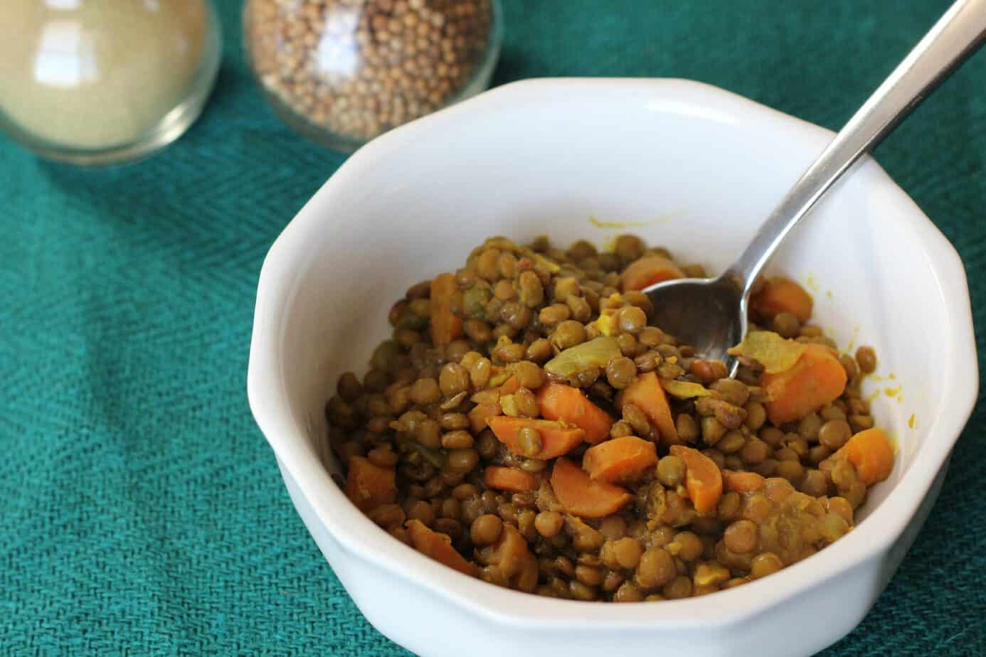 Easy Moroccan Lentil Stew