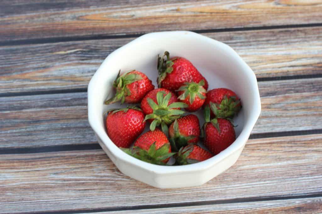 strawberries fruit