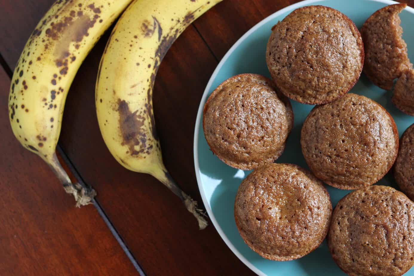banana muffins low calorie