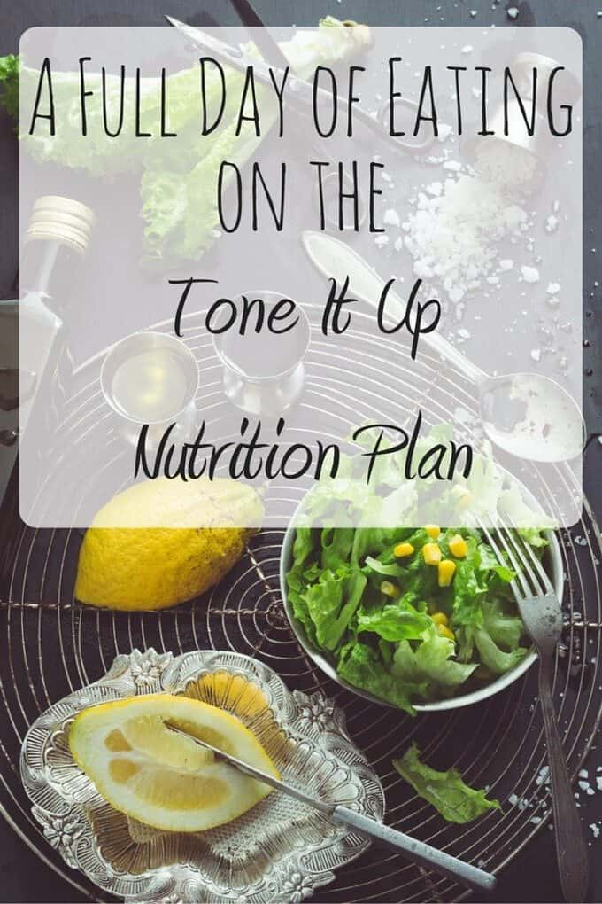 Wondering what to eat on the Tone It Up Nutrition Plan? Here's a full day of eating, documenting healthy food & recipes!