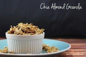 Chia Almond Granola [Gluten Free]