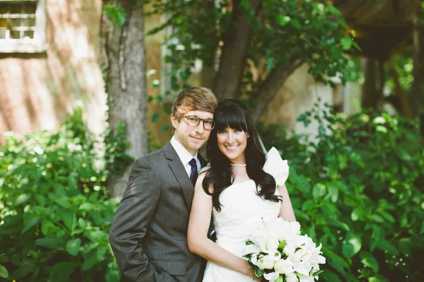 me and alex at our wedding