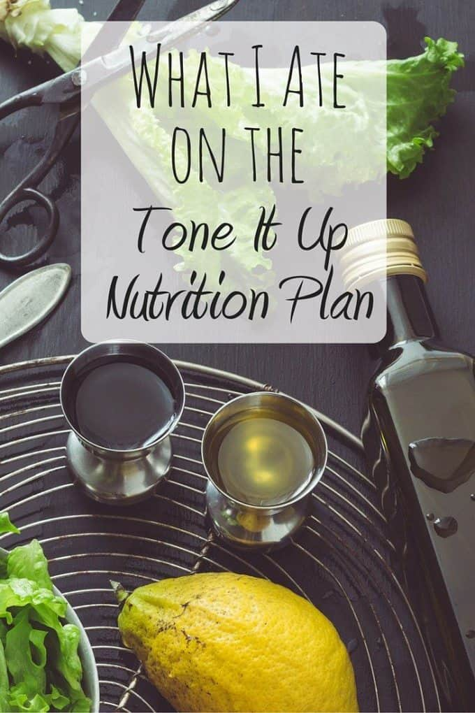 The Tone It Up Nutrition Plan is the perfect guide for healthy eating! See what I ate on a typical day on the Tone It Up Bikini Series plan!