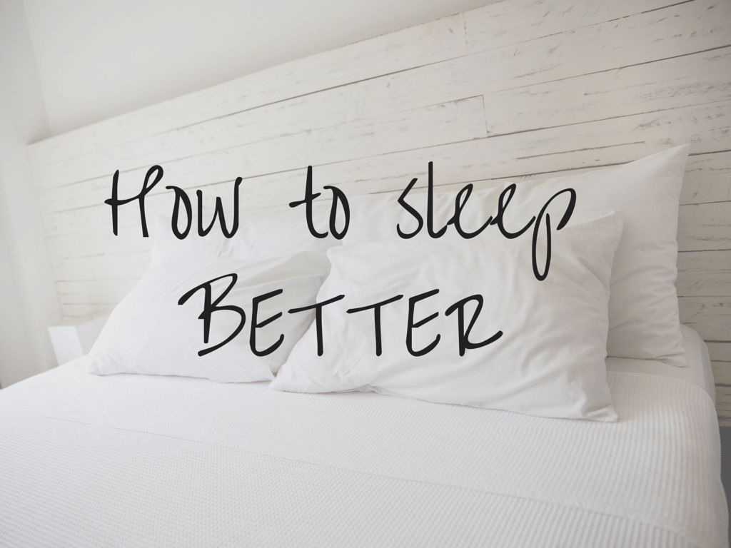 Can't sleep? Try these tips for a better night sleep!