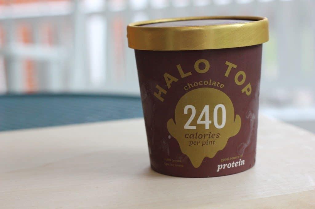 halo top chocolate ice cream