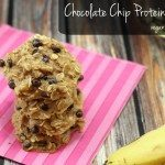 Chocolate Chip Protein Cookies [Gluten Free & Vegan]