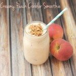 Creamy Peach Cobbler Smoothie Recipe