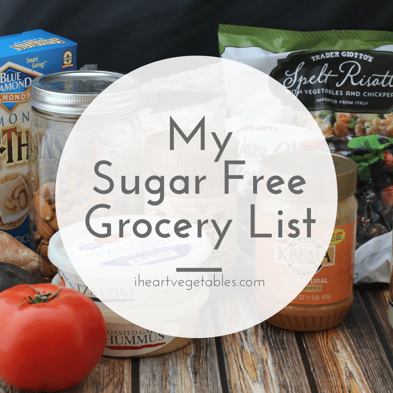 Sugar Free Grocery List