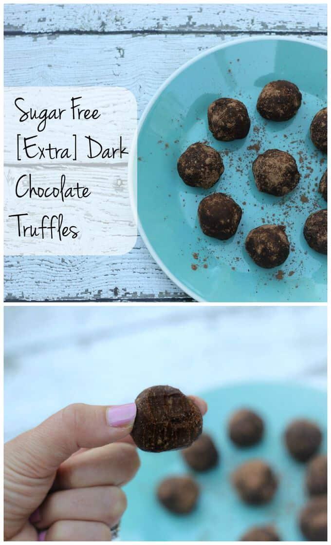 Sugar Free Chocolate Truffles - I Heart Vegetables
