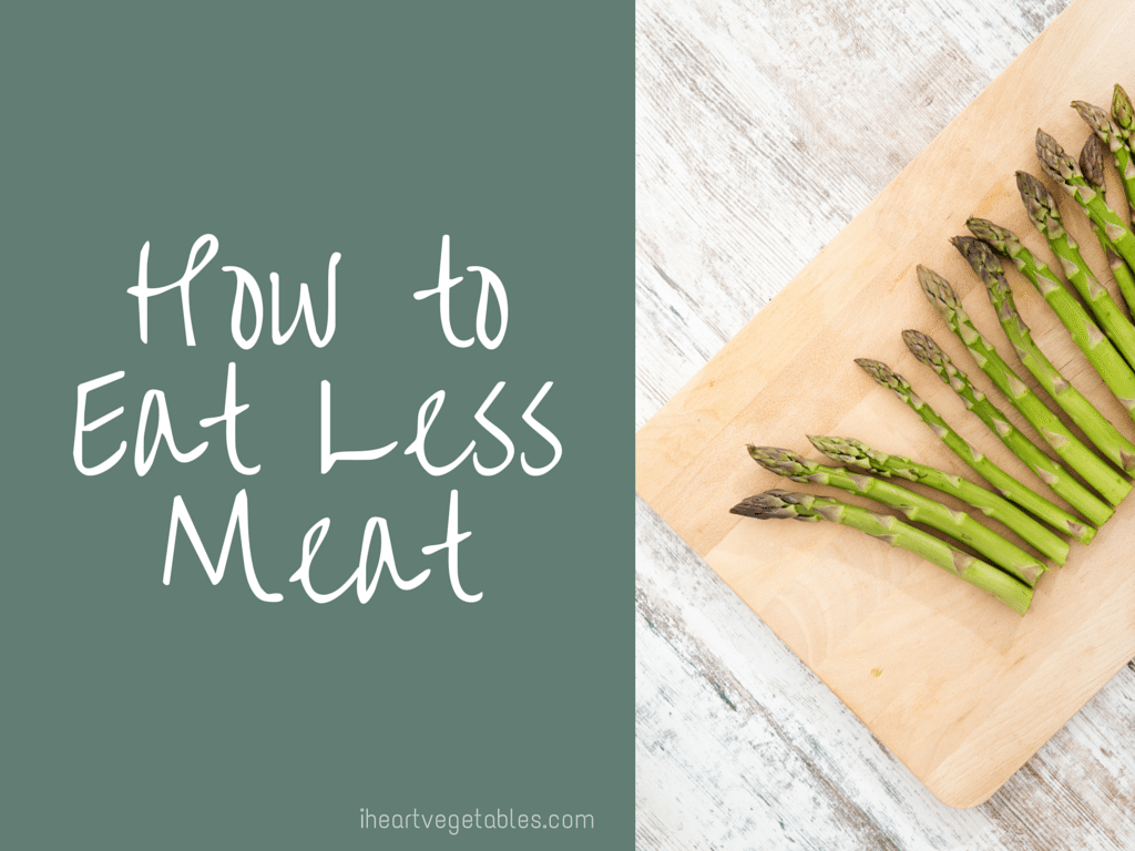 tips for eating less meat