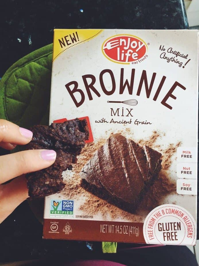 Enjoy life Brownie Mix Review