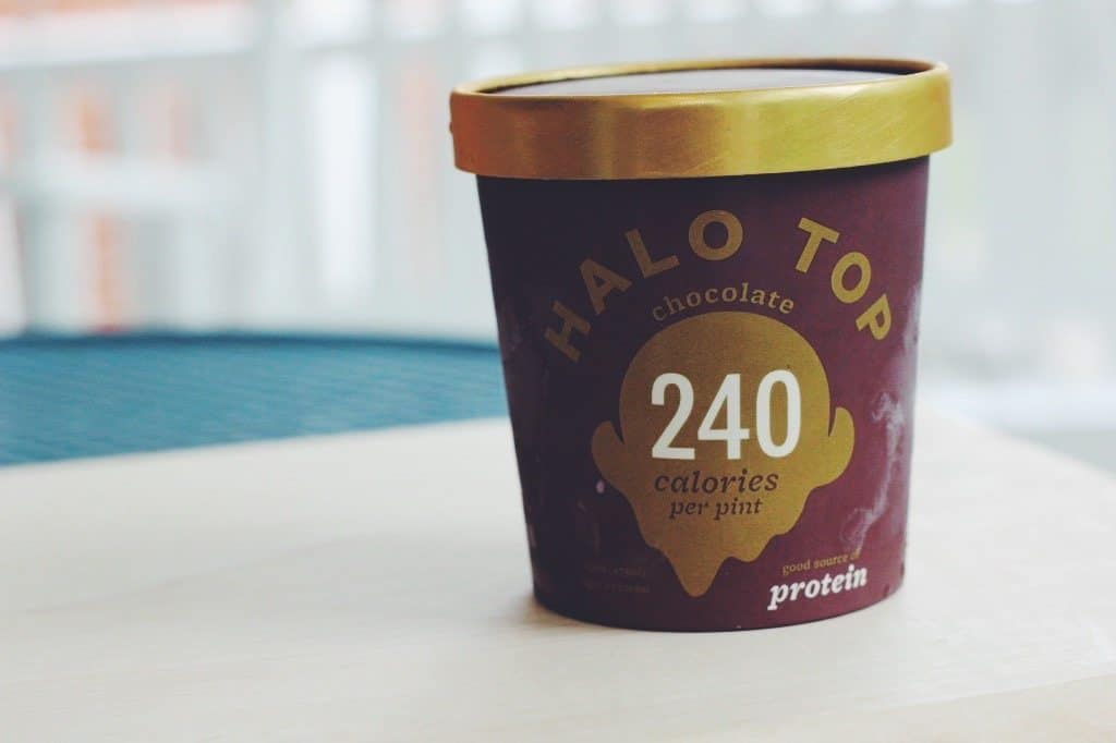 Halo Top Low Calorie Ice Cream
