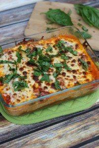 Spaghetti Squash Lasagna [Vegetarian & Gluten Free]