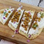 Tzatziki and Chickpea Flatbread