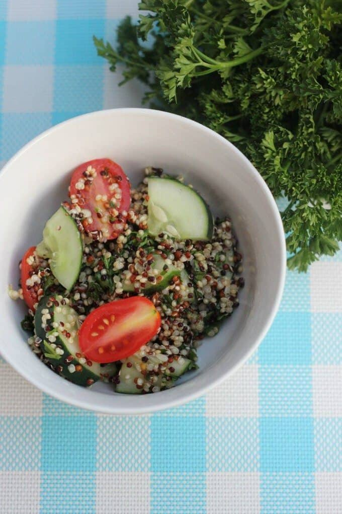 quinoa tabbouleh salad gluten free