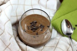 chocolate chip breakfast smoothie