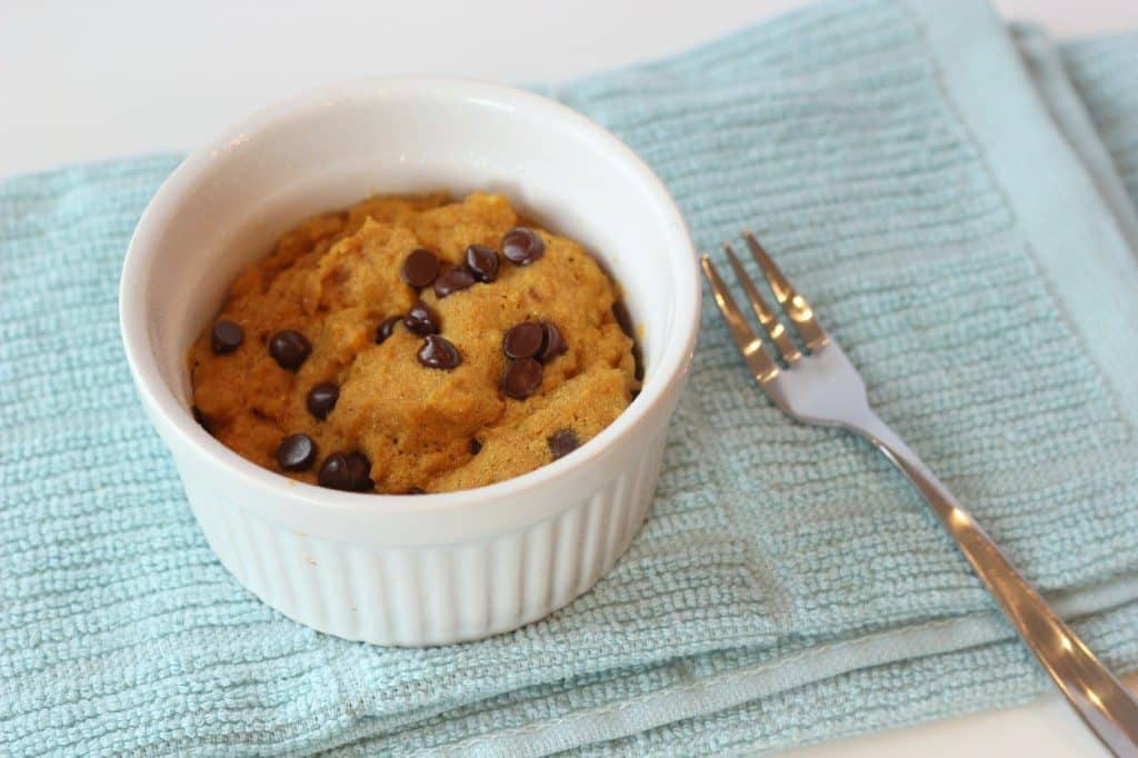 pumpkin chocolate chip cookie single serving