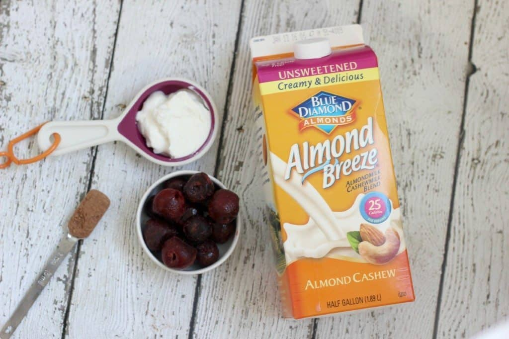 almond breeze cashew milk smoothie ingredients