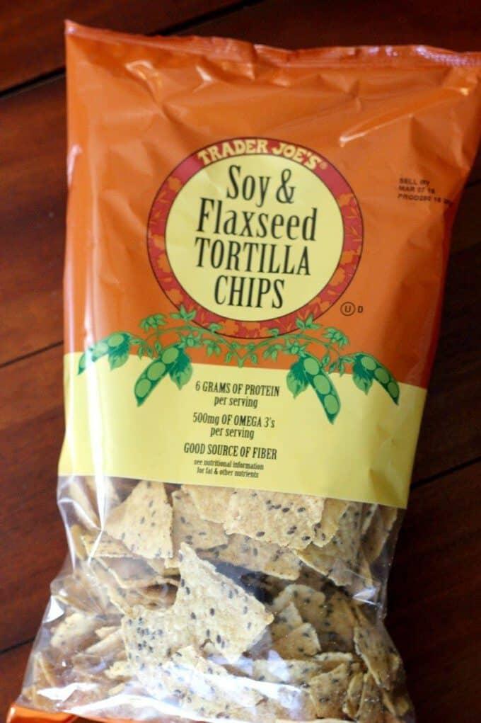 soy and flaxseed tortilla chips trader joes
