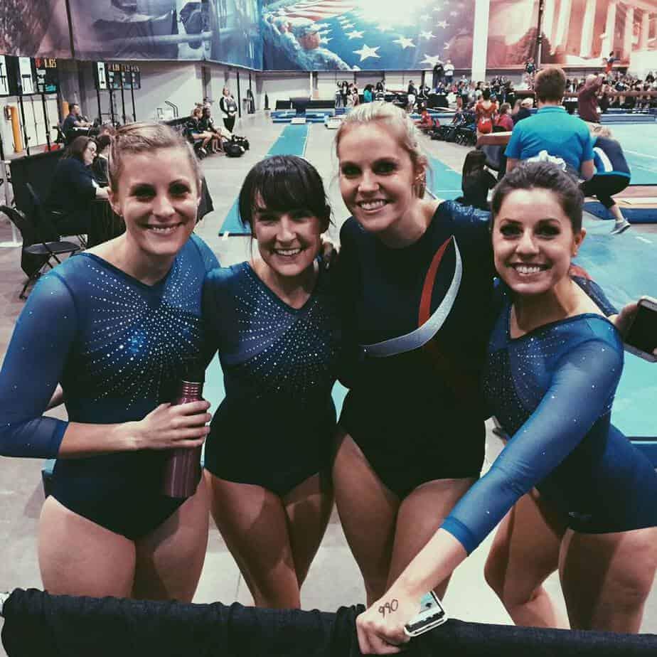 gym quest gymnastics meet team