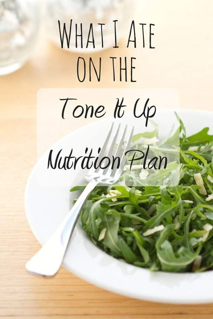 Thinking about trying the Tone It Up Nutrition Plan? See what a day of meals and recipes looks like!
