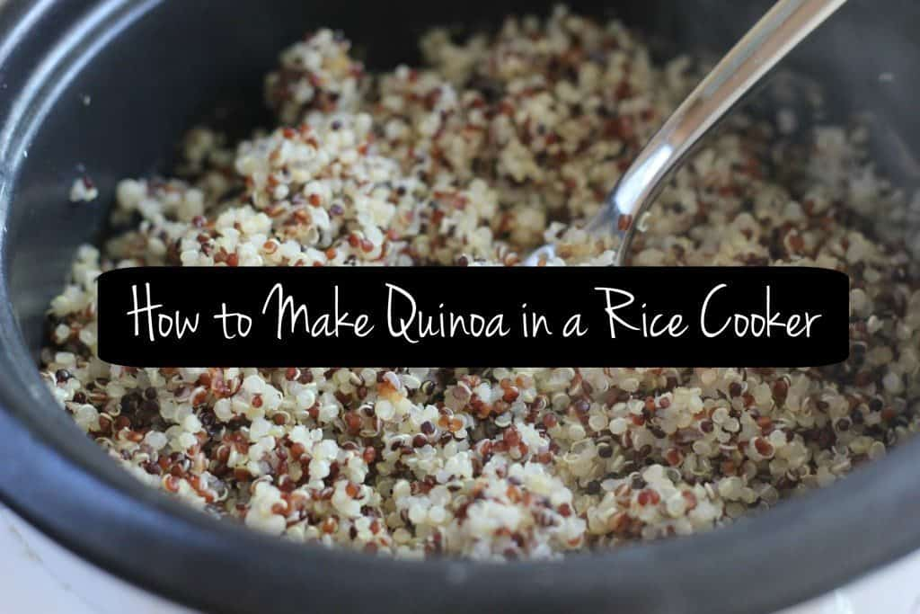 how to make fluffy quinoa in a rice cooker