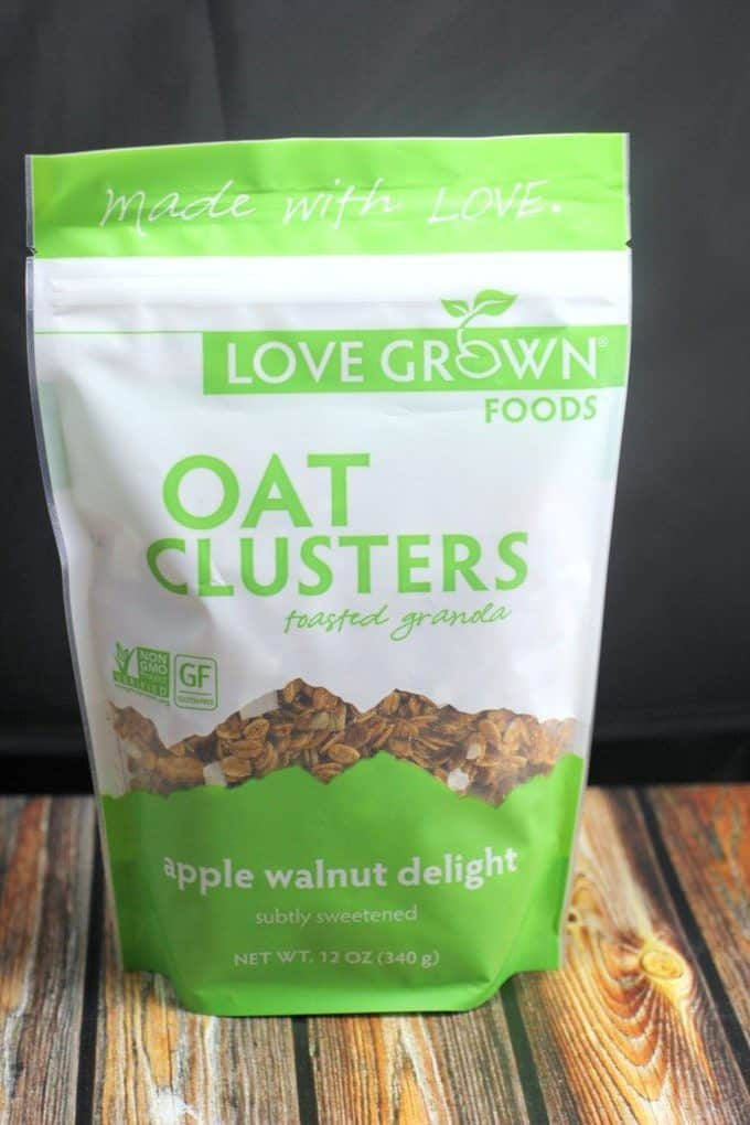 oat clusters granola