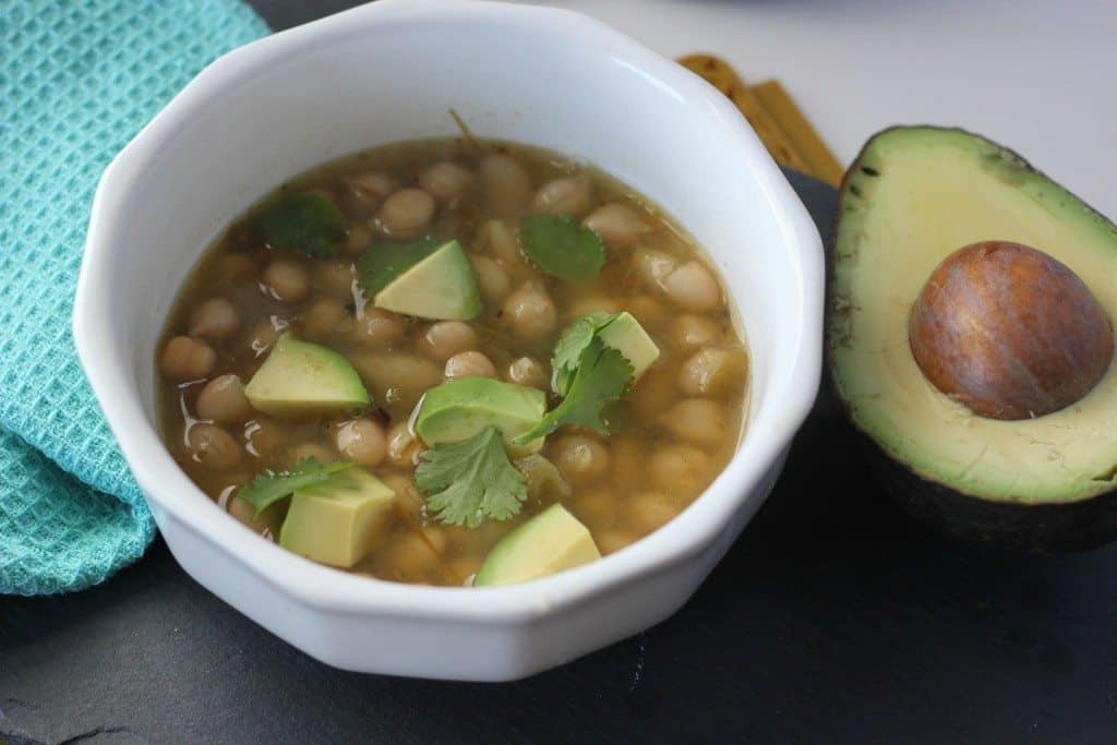 vegetarian chili soup