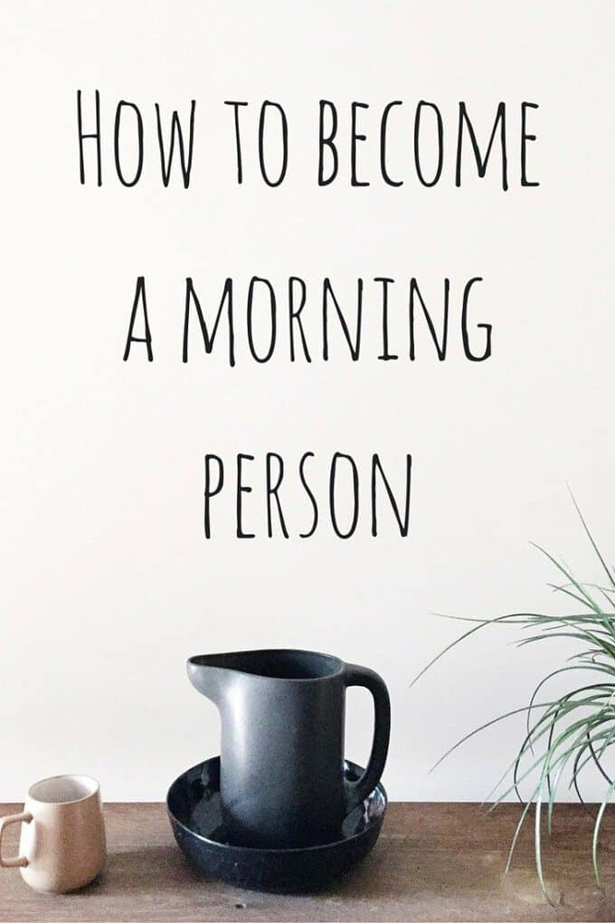 Trying to become a morning person? Need a better night's sleep? Here's how to get out of bed and be more productive!