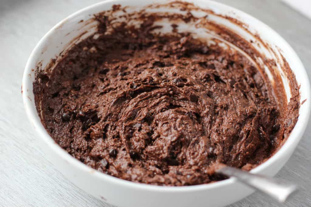 chocolate muffin batter