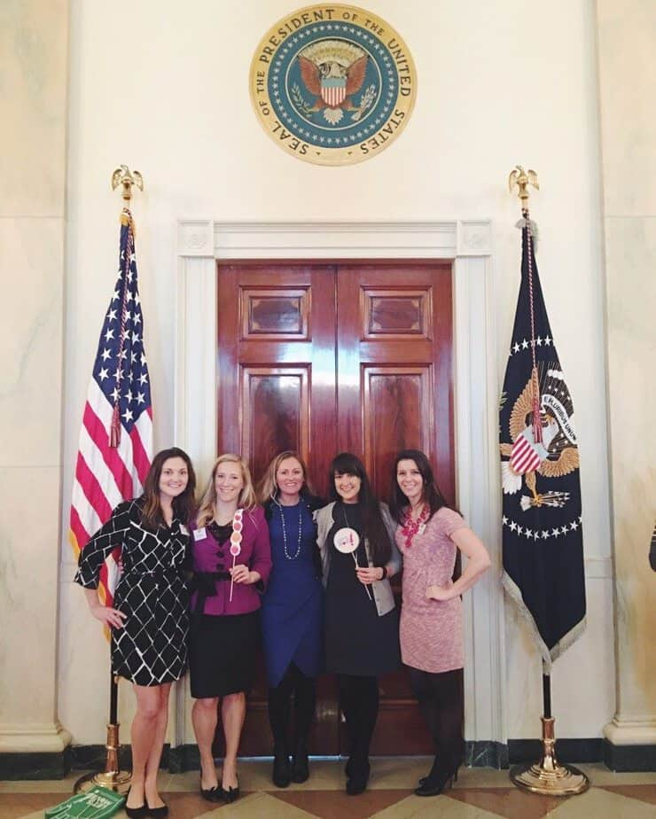 bloggers at the White House