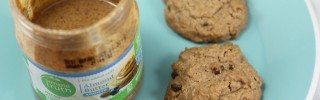 almond butter cookies with chocolate chips