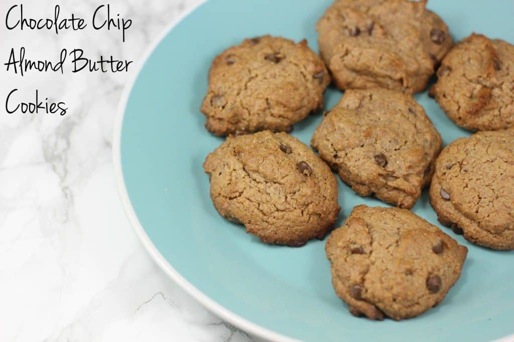 chocolate chip almond butter cookie recipe