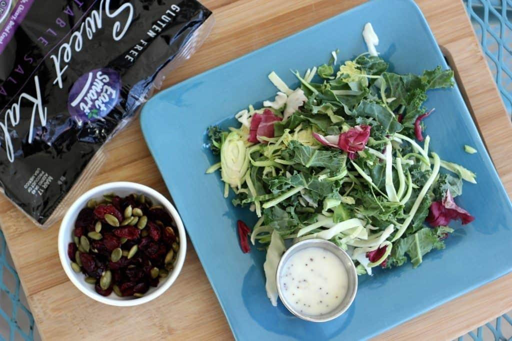 eat smart kale salad kit