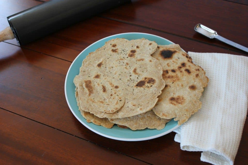 easy 5 ingredient flatbread