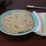 easy whole wheat flatbread