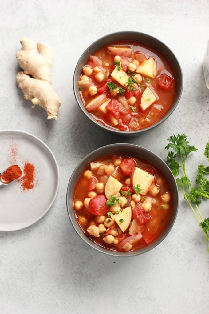 morroccan chickpea soup