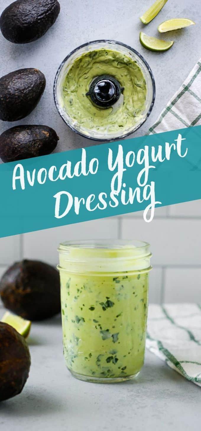 Avocado Yogurt Dressing