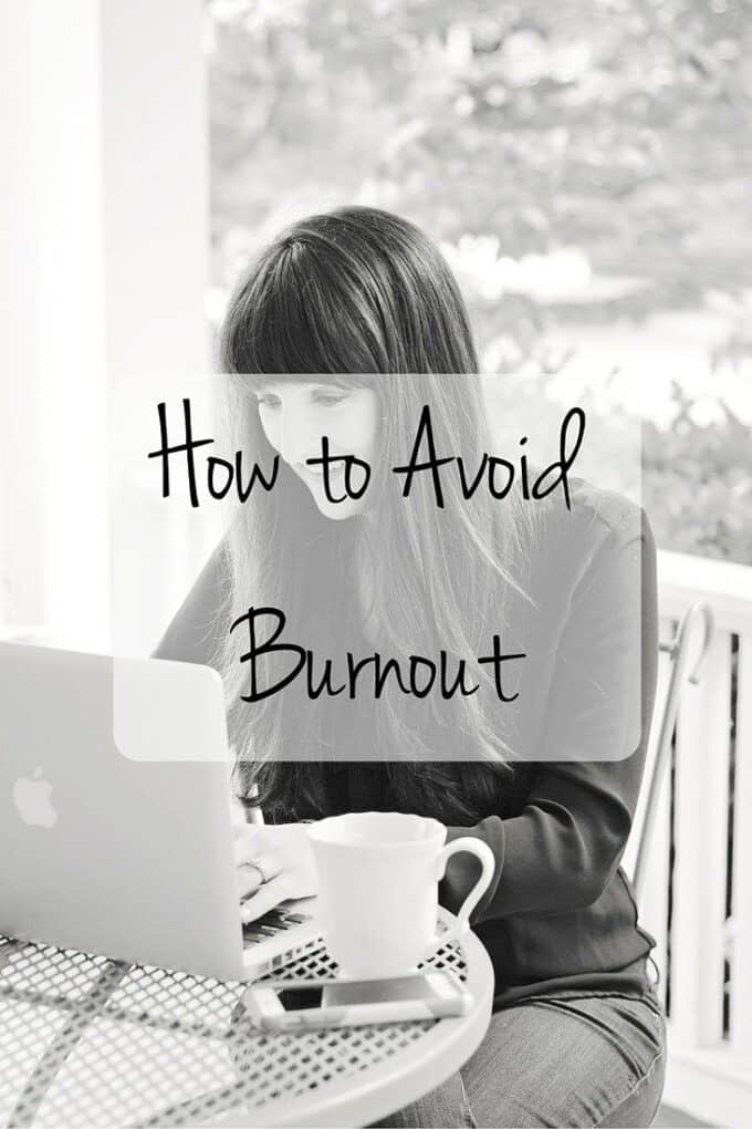 Can't find your blogging mojo? Ready to give up on that marathon goal? Here are a few tips for avoid burn out in whatever passion you're pursuing!