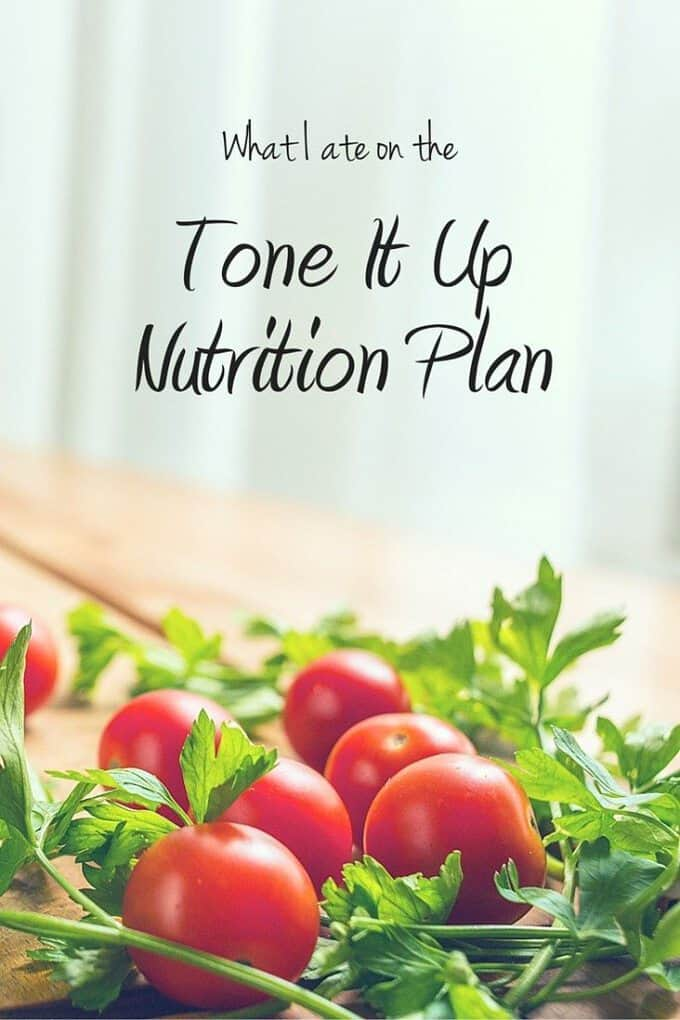 Curious about the Tone It Up nutrition plan? Here's a full day of eating on the TIU Plan!