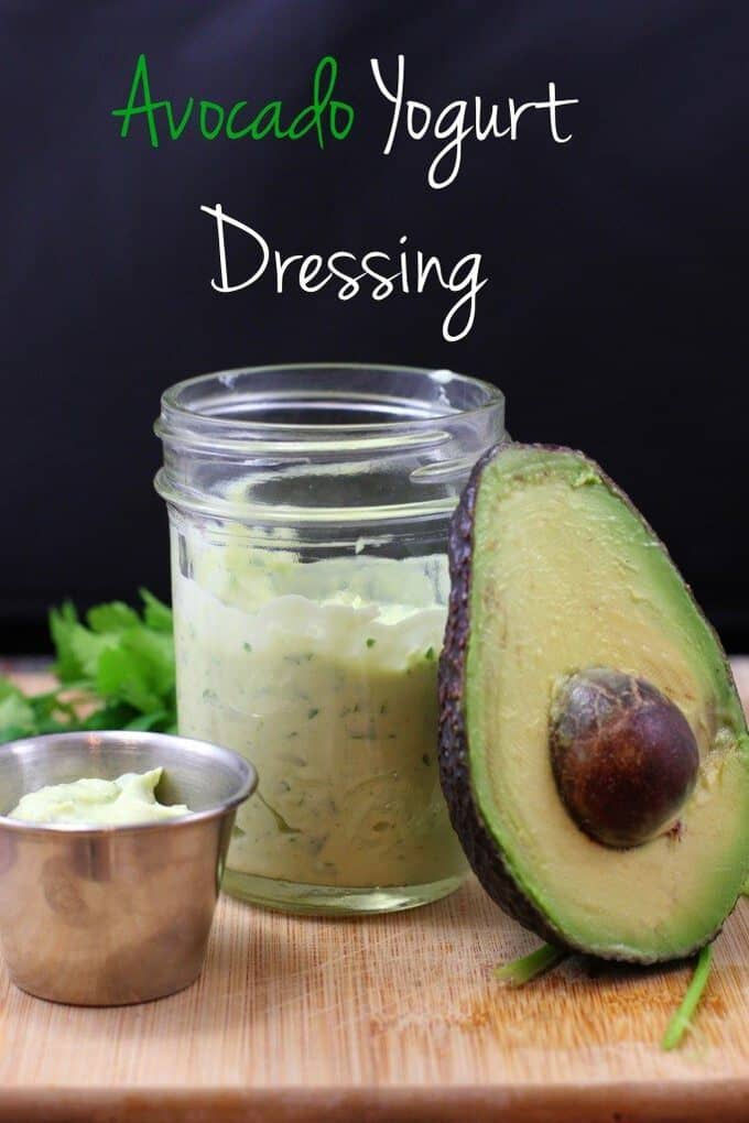 avocado yogurt dressing