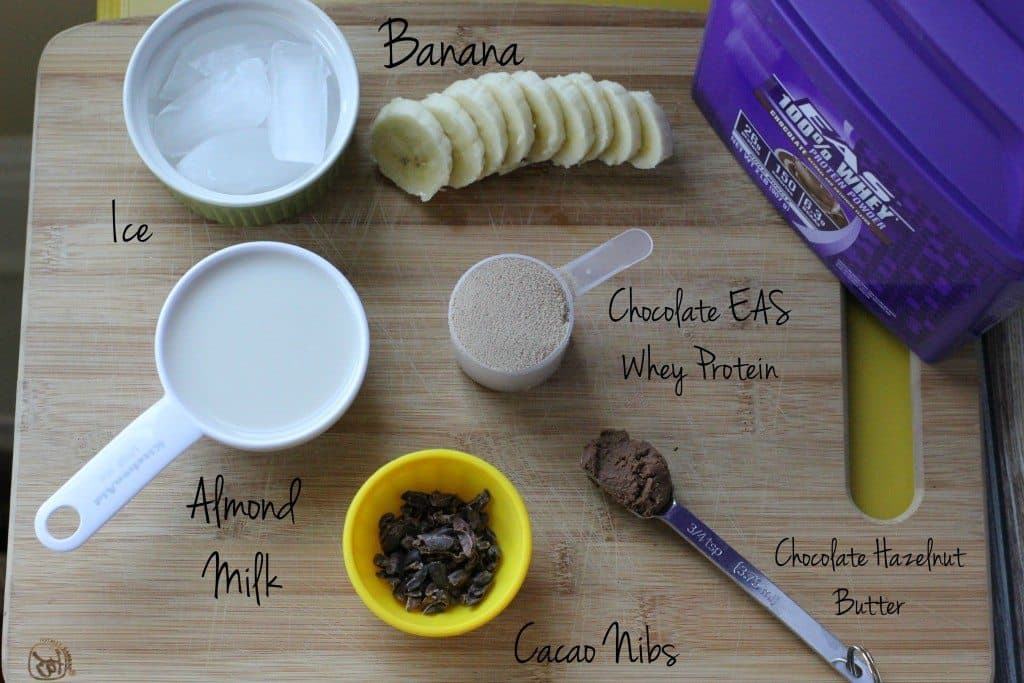 chocolate shake ingredients