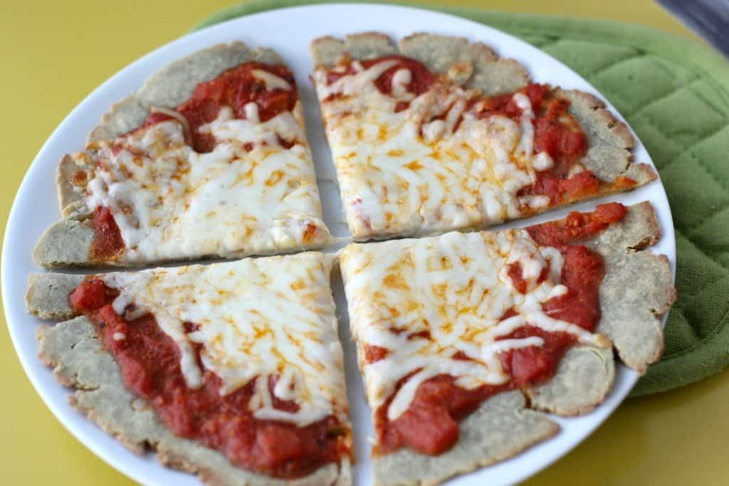 single serving gluten free pizza