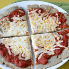 single serving gluten free pizza